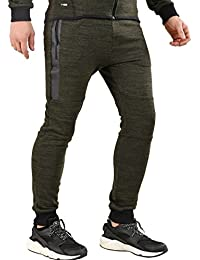 Red Bridge Herren Jogginghose Transiional Redbridge by Cipo & Baxx (S, Hose - Khaki)