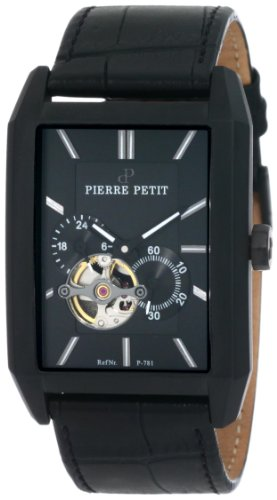 Pierre Petit Men's Automatic Watch Paris P-781A with Leather Strap
