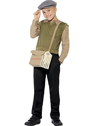 Dress Evacuee Kostüm Boy Fancy - Evacuee Boy - Childrens Fancy Dress Costume - Medium - 143cm - Age 7-9 by Smiffy's