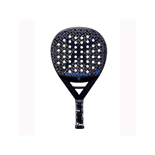 DROP SHOT Dark Pro Pala de Padel, Adultos Unisex, 1