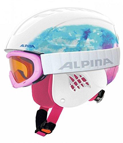 ALPINA Kinder Skihelm weiß 54-58