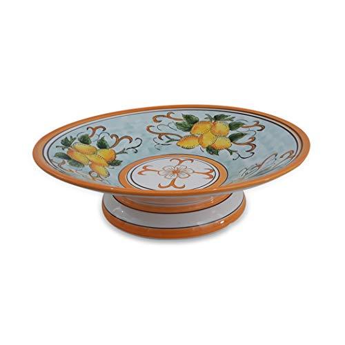 giardini di marzo centrotavola, ceramica, giallo/arancio, no