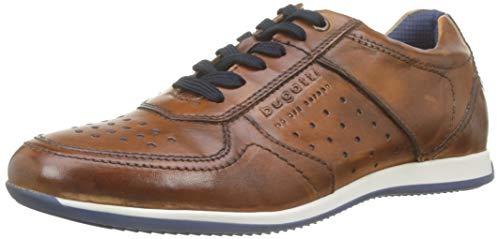 bugatti Herren 311450073500 Sneaker, Braun (Cognac 6300), 42 EU -