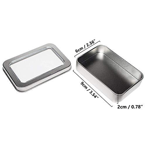 Zoom IMG-1 kurtzy scatola metallo rettangolare 10pz