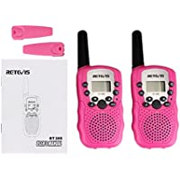 Retevis RT388 - Walkie talkie con 8 canales VOX, color rosa