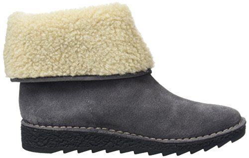 Clarks Olso Beth, Bottes Classiques Femme Gris (Grey)