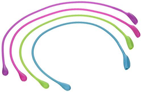Silikon Binder für lebensmittel 4 Stück the food Loop für Fisch / Rouladen / fleisch wrap uvm Food Loop