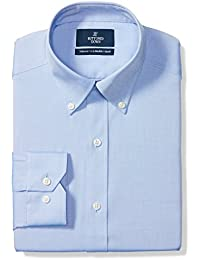 Buttoned Down Tailored Fit Button-collar Solid Non-iron Dress Shirt  Camicia, Uomo