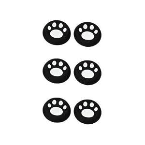OSTENT 6 x bunte Analog Joystick Button Protector kompatibel für Xbox One Controller – Farbe weiß