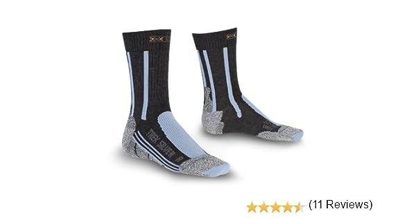 X-SOCKS Trek Silver Chaussettes de randonn/ée homme