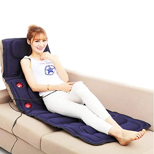 BELIEVE Massagesitzauflage Shiatsu Massagegerät Nacken Schulter,3 Massage Modi Multifunktionale Heizung Infrarot-Faltbare Sitzkissen Körper Bett