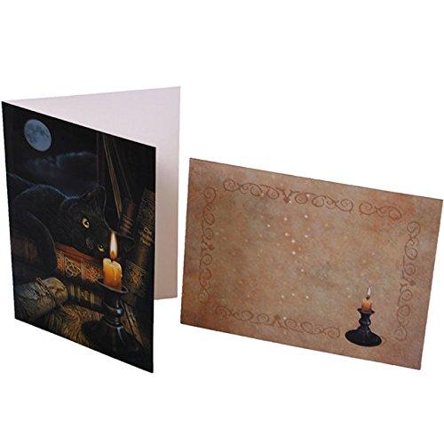 Geisterstunde-Karten von Lisa Parker, 6 Stück (Lisa Parker Geisterstunde)
