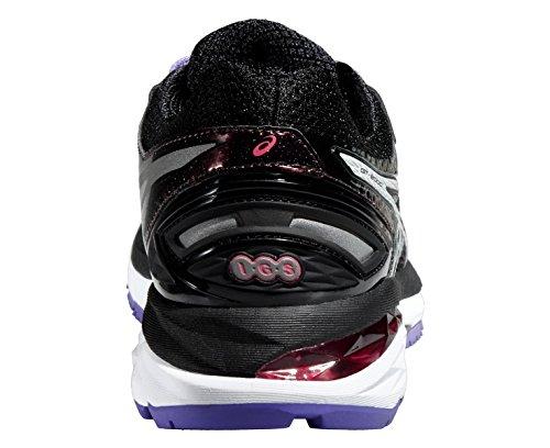 ASICS GT-2000 4 Lite-Show Women's Chaussure De Course à Pied - SS16 Noir/Blanc/Violet