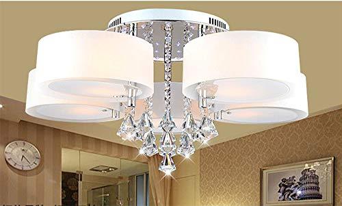 Plafoniere Con Telecomando : Stylehome 6103 7 lampadina rgb cristallo plafoniera led w