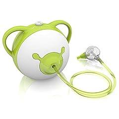 Idea Regalo - Nosiboo Pro Aspiratore Nasale per bambini e neonato (elettrico, verde)