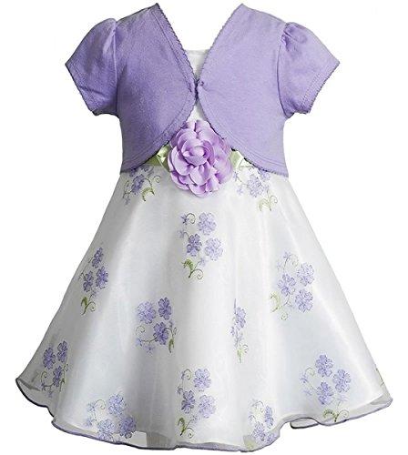 Traumhaftes Organza Petticoat Kleid + Bolero von Youngland Gr. 92,98,104,110,116,122 Größe 104 (Youngland Kleid)