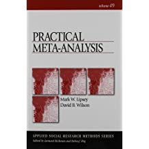 Practical Meta-Analysis (Applied Social Research)