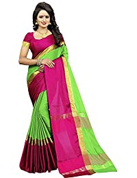 Alka Fashion Women's Art Silk Printed Saree With Blouse Pices