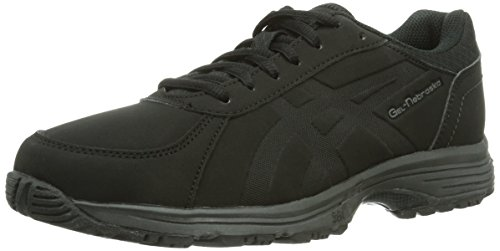 Asics Damen GEL-NEBRASKA Walkingschuhe Schwarz Black 9090), 37.5 EU
