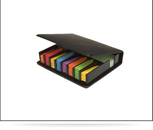 Range Großhandel von Sticky Notes/Seite Index, Post Taben Schreibtisch, Set in Leder Optik Case It ideal für Verwendung in the home/Arbeit/Büro/Business, ect.. -