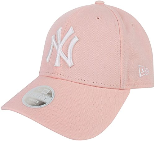 New Era Damen New York Yankees Essential 9 Forty Baseball-Cap, Rose, FR (Taille Fabricant : OSFA)