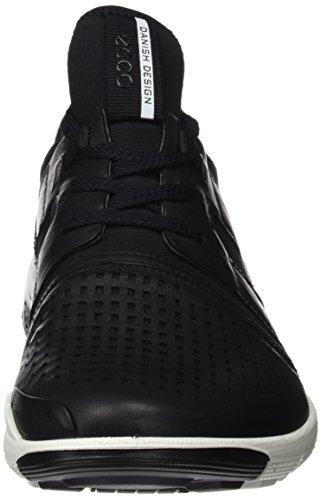 Ecco Herren Intrinsic 2 Hohe Sneaker Schwarz (Black/Black)