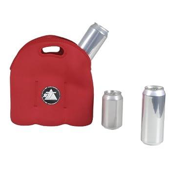 10t Outdoor Equipment 10t Cooler 6 X 500ml Neopren Dosenkühler Flaschenkühler Kühler Getränkekühler Kühltasche Mit Tragegriff 11