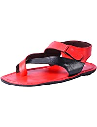 Andrew Scott Men's Red Sandal
