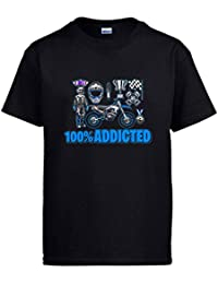 Diver Bebé Camiseta Motocross Addicted