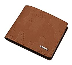 Bogesi Leather Bi-Fold Mens Wallet - 0085 (Brown)