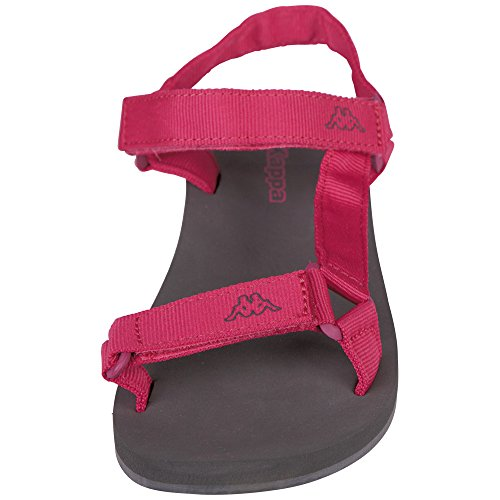 Kappa Shaky, Sandales Bout Ouvert Femme Rose (Pink/anthra)