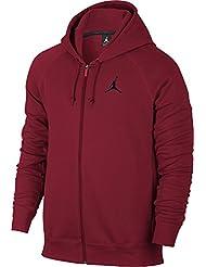 Nike - FLIGHT FLEECE FZ - Vestes - Rouge