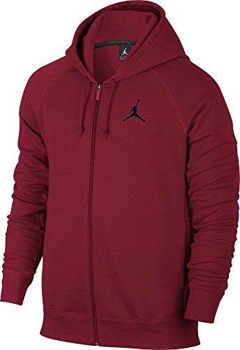 Nike FLIGHT FLEECE FZ - Jacke Rot - S - Herren (Herren Zip-basketball-schuhe)