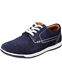 Extacy By Red Chief Men's EXT136 Leather Sneakers