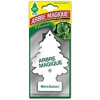 Arbre Magique Mono, Deodorante Auto, Fragranza Menta Glaciale, Profumazione Prolungata fino a 7 Settimane
