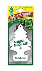 Idea Regalo - Arbre Magique Mono, Deodorante Auto, Fragranza Menta Glaciale, Profumazione Prolungata fino a 7 Settimane