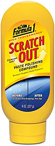 Formula 1 613191-E Scratch Out Heavy Duty Paste (227 g)- ( Only for Minor Scratches)