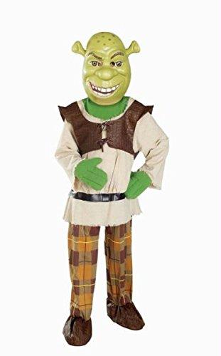 Shrek Deluxe Child Small (Erwachsenen Deluxe Shrek Kostüme)