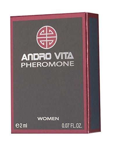 andro Vita Feromona Perfume para mujer en spray, 2ml