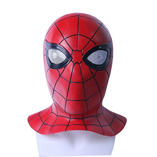 ZYFDFZ Avengers 3 Cosplay Spiderman Mask Halloween Requisiten -