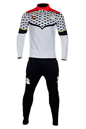 Gemeinsam Trainingsanzug Palästina cz228weiß schwarz Weiß