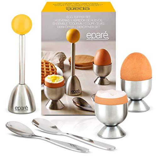 Eparé Egg Cracker/Topper Set | Topper Löffel und Becher Rsvp-gadgets