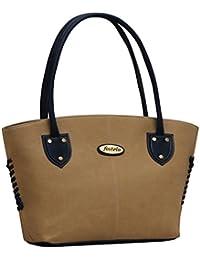 Fostelo Women's Handbag Beige FSB-366