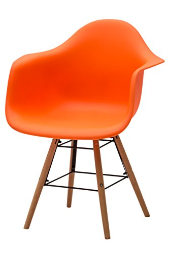 Arancione White loft 68x70x96 cm Poltrona e Pouf Metallo