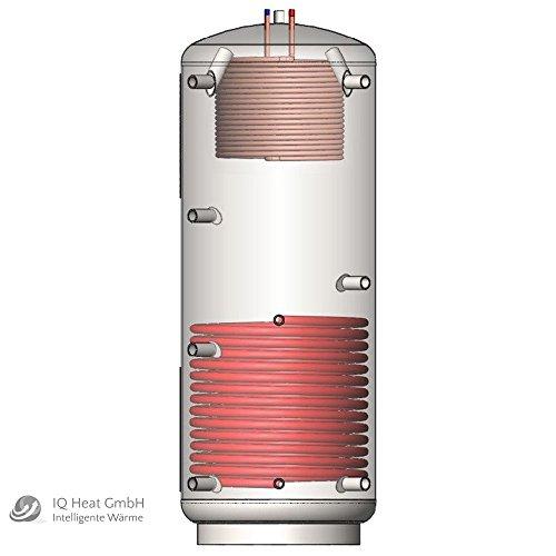 Atmos PAWS Hygiene Pufferspeicher 800 Liter Isolierung Solar Wärmetauscher
