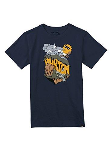 Burton Jungen Jesse Short Sleeve T-Shirt, Indigo, S (Burton Shirt Blau)