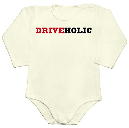 idcommerce Driveholic The Person Who Loves Driving Baby Romper Long Sleeve Bodysuit