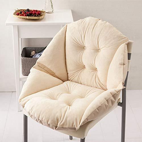 Tubayia Weiche All-gerundet Sitzkissen Sesselkissen Stuhlkissen für Hause Büro Auto - Runde Sessel