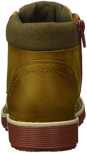 Clarks Kids Jungen Day Magic Jnr Kurzschaft Stiefel Braun (Tan Leather)