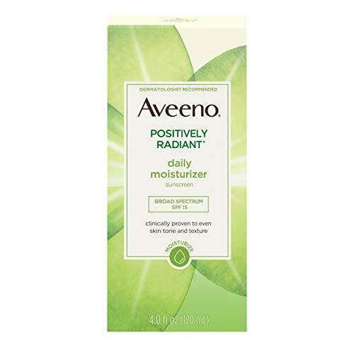 Aveeno Positively Radiant Täglicher Feuchtigkeitsspender, 113,4g (Spf Nr. 15) (Aveeno Moisturizer Spf)
